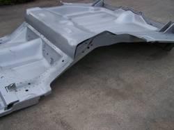 1968 Camaro/Firebird Convertible Full Floor w/Braces & Trunk Floor Tubbed For Wider Wheel Wells - Image 2