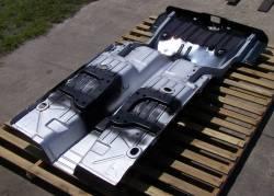 1968 Camaro/Firebird Convertible Full Floor w/Braces & Trunk Floor Tubbed For Wider Wheel Wells - Image 5
