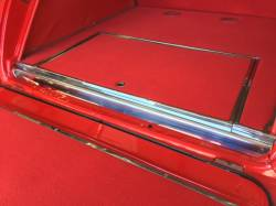 1955-57 Chevy Nomad/Station Wagon/Sedan Delivery Rear Body Polished Stainless Steel Sill Plate - Image 3