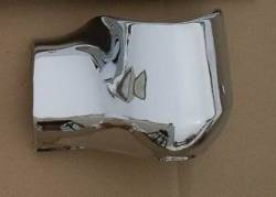 1955-57 Chevy - Bumper - Show Quality USA Chrome 1956 Chevy Chrome Right Rear Bumper End