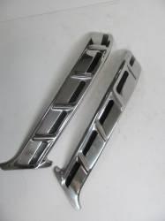 1955-57 Chevy - Stainless Steel Trim - 1957 Chevy 150 2&4-Door Sedan Restored Upper Paint Dividers Pair