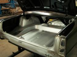 1966-67 Chevy II Body Shell Column Shift Bench Seat With Quarter Panels & Top Skin - Image 7