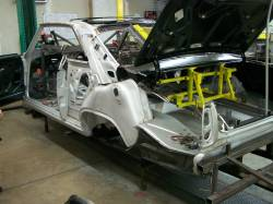 Bodies - Chevy II/Nova - 1966-67 Chevy II Body Skeleton Standard Shift Bucket Seats