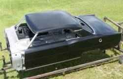 1966-67 Chevy II Body Shell Standard Shift Bucket Seats With Quarter Panels & Top Skin - Image 13