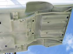 1966-67 Chevy II Body Shell Column Shift Bench Seat With Quarter Panels & Top Skin - Image 16