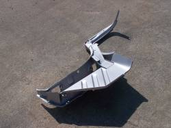 1957 Chevy Sedan And Station Wagon Left Cowl Side Panel A-Pillar Assembly - Image 2