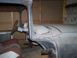 1955-56 Chevy 2&4-Door Hardtop & Nomad Right Windshield Pillar/Upper Hinge Area Repair Kit - Image 2