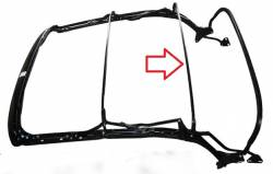 1955-57 Chevy Convertible Top Frame Rear Center Bow - Image 2