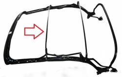 1955-57 Chevy Convertible Top Frame Forward Center Bow - Image 2