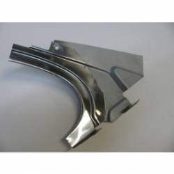1955-57 Chevy - Roof/Top - 1955-57 Chevy 210 & Bel Air 2-Door Hardtop Restored Right Rear Stainless Inner Dogleg With Felt