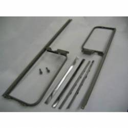 1955-57 Chevy - Side Glass - 1955-57 Chevy 2&4-Door Sedan, Station Wagon & Sedan Delivery Used Vent Window Assemblies