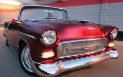 "1955 Chevy California ""Smoothie"" Style Chrome Front Bumper - Image 2"