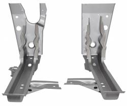 Chevy II Nova - Floor - 1966-67 Chevy II Firewall To Floor Braces At Firewall Pair