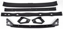 Chevy II Nova - Roof/Top   - 1966-67 Chevy II 2-Door Hardtop Roof/Top Brace Kit