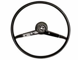 "1955-57 Chevy - Dash - 1957 Chevy 210 & Bel Air 18"" Steering Wheel Black"