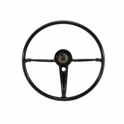 "1955-57 Chevy - Interior - 1955-56 Chevy Bel Air 18"" Steering Wheel Black"