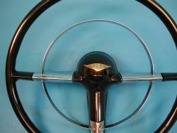 1955-56 Chevy Bel Air Center Horn Ring Cover - Image 2