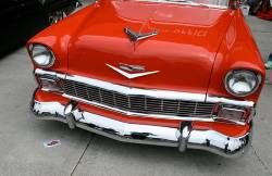 1956 Chevy Chrome Lower Grille Molding - Image 2