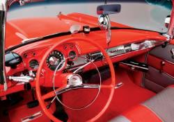 1957 Chevy 210 & Bel Air Chrome Horn Ring - Image 2
