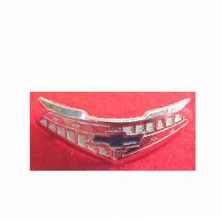 1955-57 Chevy - Dash - 1955-56 Chevy 210 Series 6-Cylinder Chrome Horn Cap Emblem