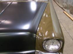 1956 Chevy Complete Hood - Image 5