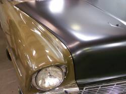 1956 Chevy Complete Hood - Image 6
