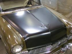 1956 Chevy Complete Hood - Image 7