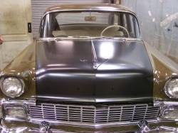 1956 Chevy Complete Hood - Image 8