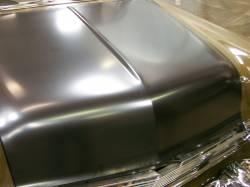 1956 Chevy Steel Custom Smoothie Hood Complete - Image 2