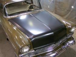 1956 Chevy Steel Custom Smoothie Hood Complete - Image 3