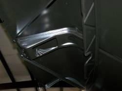 1956 Chevy Steel Custom Smoothie Hood Complete - Image 5