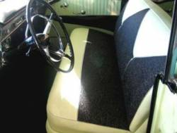 1955-56 Chevy 4-Door Front Seat Foam Cushion Set - Image 2