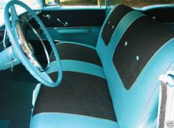 1957 Chevy 4-Door Front Seat Foam Cushion Set - Image 2