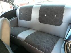 1955-57 Chevy 2-Door Hardtop Rear Seat Foam Cushion Set - Image 2