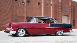 1955 Chevy Bel Air Hardtop & Convertible Restored Upper Paint Dividers Pair - Image 2