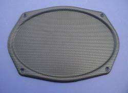 1955-57 Chevy - Back Glass/Rear Deck Panel - 1955-57 Chevy Rear Deck Speaker Grille