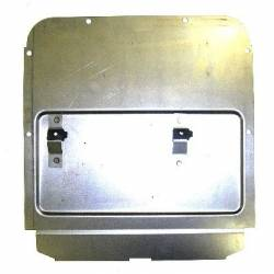 1955-57 Chevy - Side Glass - 1955-57 Chevy 2-Door Sedan Right Rear Inner Quarter Access Cover
