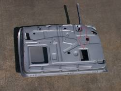 1955-57 Chevy 2-Door Inner Access Cover Small - Image 2