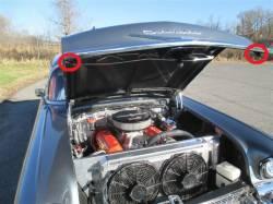 1957 Chevy  Adjustable Hood Stop Kit - Image 2