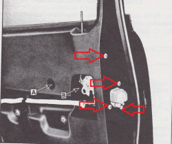 1955-57 Door Latch Screw Set - Image 2