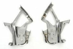 1955-57 Chevy - Firewall - 1957 Chevy Hood Hinges Pair