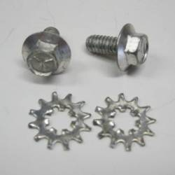 1955-57 Chevy Trunk Striker Bolts Pair - Image 1