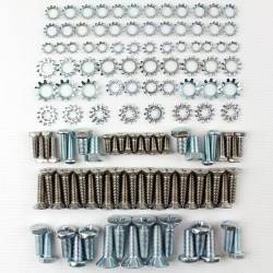 1955-57 Chevy Station Wagon Upper & Lower Tailgate Fastener Kit - Image 1