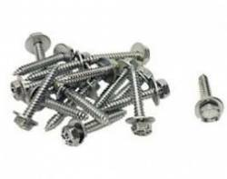 1955-57 Chevy - Back Glass/Rear Deck Panel - 1955-57 Chevy Convertible Top Rear Tack Strip Bolt Set