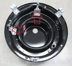1955-57 Chevy Headlight  Adjuster & Screw Kit - Image 2