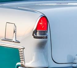 1955 Chevy Chrome Taillight Bezel - Image 2