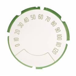 1957 Chevy Speedometer Face Lens - Image 1