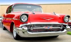 1957 Chevy Parking Light Lenses Pair - Image 2