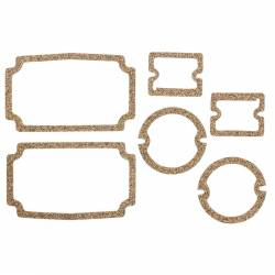 1955-57 Chevy - Front Fender - 1956 Chevy Parking Light, Taillight & Backup Lens Gaskets Set