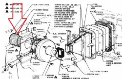 1957 Chevy Deluxe Heater Air Inlet Hose - Image 2